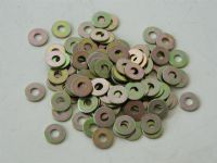 "10 x Flat Steel Washers Fit 2BA Bolt 1/2"" Outer Diameter [H12]"